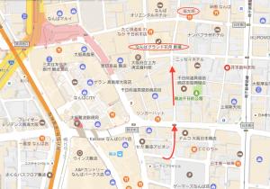 NGKへの地図